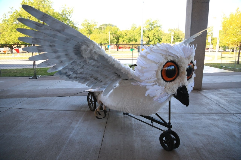 owl-at-makerfaire